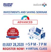 Investment & Savings Seminar - Advanced